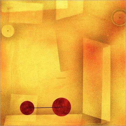 Posterlounge Holzbild 90 x 90 cm: Die Erfindung von Paul Klee/akg-Images