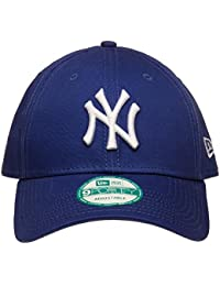 New Era Mlb Basic Ny Yankees 9Forty Adjustable Light Royal - Casquette de Baseball - Homme