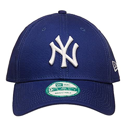 New Era Cap 9Forty League Basic New York Yankees, Royal/White, One size, 11157579