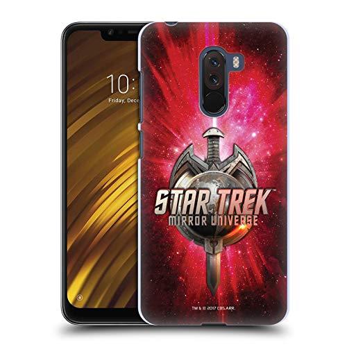 Head Case Designs Offizielle Star Trek Terran Reich Schwert Und Globus Logo Mirror Universe TNG Ruckseite Hülle für Xiaomi Pocophone F1 / Poco F1