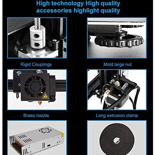 YA Creality CR20 Impresora 3D integrada de Nivel básico, impresión de Alta precisión, Bricolaje, para oficinas…