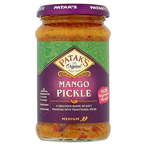 Patak's Mango Pickle - Eingelegte Mango - 2 x 283 g