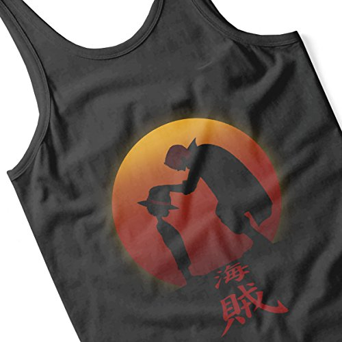 Luffy And Shanks I Will Be The Pirate King Men's Vest Black