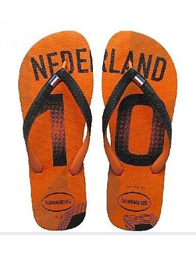 NTX/Herren Schuhe Outdoor/Casual Kunstleder Sandalen/Flip Flops Blau/Gelb/Rot/Weiszlig;/Grau/Orange