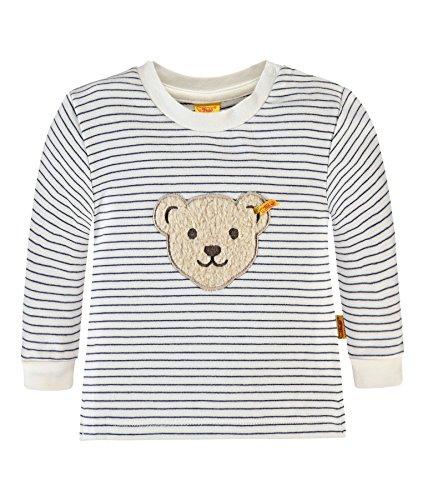 Steiff Baby-Jungen Sweatshirt 1/1 Arm 6712713, Mehrfarbig (y/d Stripe 0001), 68