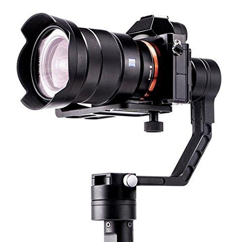 Gowe Digital Kamera Handheld 3-Achsen-Gyroskop Stabilisator 3Axis DSLR Gimbal Steadicam besser Beholder DS1MS1Nebel 4000Lite