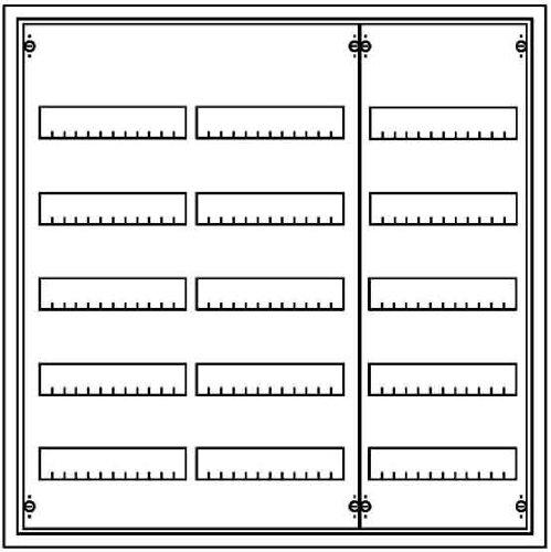Striebel&John AP-Verteiler 5r. AT53 Installationskleinverteiler 4011617301271