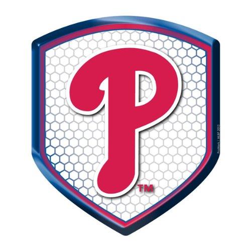 MLB Philadelphia Phillies Team Shield Automobile