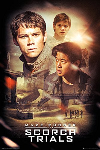 Maze Runner – poster – 2 Poster – Collage The Scorch Trials + Ü -