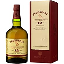 Redbreast 12 Year Old Single Pot Still Irish Whiskey, 70cl