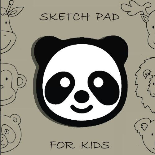 """Sketch Pad for Kids: Sketching, Drawing and Creative Doodling. Sketch Pad For Drawing, Size: 8.5"""" x 8.5"""", 110 pages, Blank Drawing Pad to Practice How, Personalized Artist Sketchbook"""