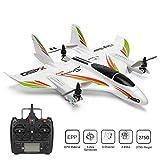Xk X450 Drone ContrôLe à Distance Avion Rc Acrobatique Planeur avec Gyro,Moteur brushless 2.4G 6CH 3D / 6G décolle verticalement Hélicoptère RC aile fixe LED Glider RTF Avion Enfants et adultes