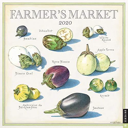 Farmer's Market 2020 Calendar par John Burgoyne