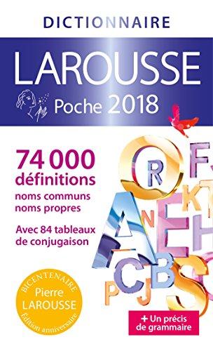 Dictionnaire Larousse Poche – 2018 par From Larousse Editions