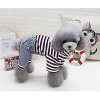 cb246c13f8 Haustier-Katze-Hundekleidung Hundekleidung Hund und Katze Frühling Sommer  Vier-Bein-Hosen