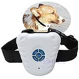 JAGETRADE Hund Bark Stop 1Stück Ultraschall Control Halsband Anti Bellen NE