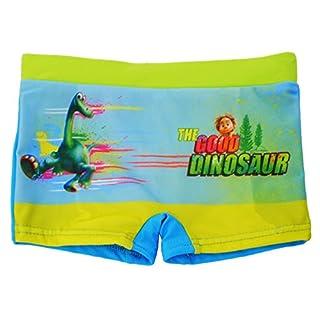 alles-meine.de GmbH Badehose / Badeshorts -  Arlo & Spot - Dinosaurier / The Good Dinosaur  - Größe 6 bis 7 Jahre - Gr. 122 bis 128 - für Jungen Kinder Badepants - Boxershorts ..