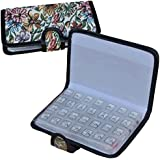 7 Day Tapestry Pill Organiser Box - Discrete Pill Organiser with a Luxurious Tapestry Effect Cover