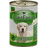 LandFleisch Hypoallergen Hirsch   12x400g Hundefutter