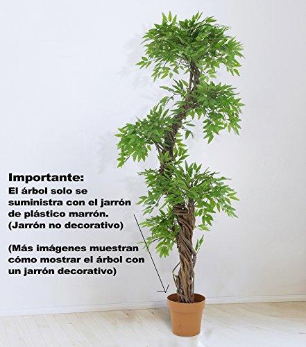 Stilvoller künstlicher Baum & Pflanzen, Der Japanese Fruticosa Tree ist eine wunderschöner künstliche Pflanze für Büros und Innendekorationen Höhe: 165cm groß. Pflanzen für einen Wintergarten - 6