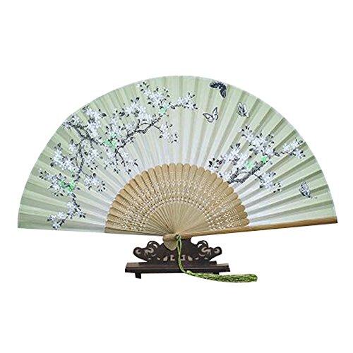 Für Hochzeits-Geschenk Bambus Hand Folding Fan Bunte Folding Fan für Frauen