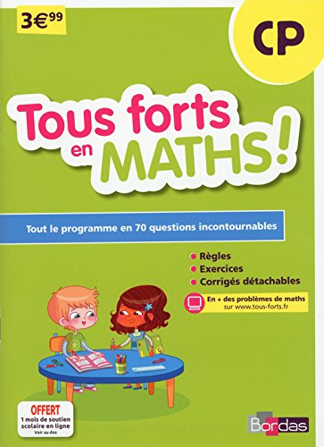 Tous forts en Maths CP par Collectif