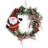 Keng Christbaumkugel Kleine Girlande Weihnachtskranz Kleine Schneemann Weihnachtsmann Weihnachtskranz vor Lichter Dekorationen Gelegentliche Lieferung