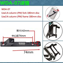 MTB adaptador para freno de disco post Pinza para Post horquilla delantera o trasera marco 180mm