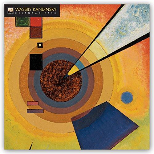Wassily Kandinsky 2018: Original Flame Tree Publishing-Kalender [Kalender] (Wall-Kalender) (Original-gemälde Blaue)