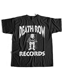 T-Shirt Death Row Records Logo Tupac Suge Ritter Snoop Dogg Hip Hop S-4XL Tyga