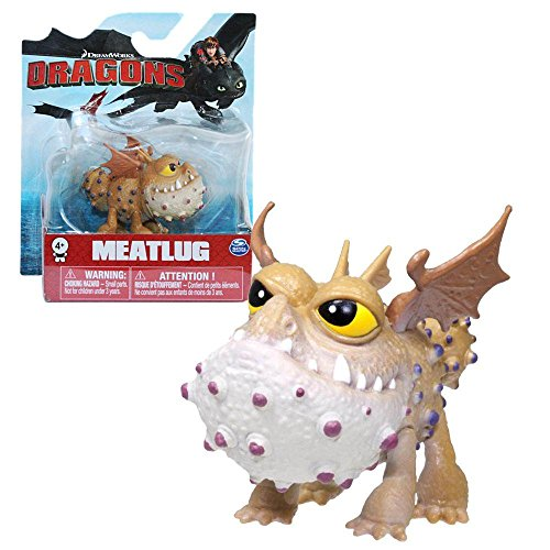 Dragons - Mini Spielfigur - Drachen Fleischklops - Meatlug