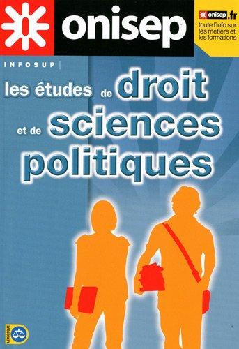 Les études de droit et de sciences politiques : Etudes et débouchés