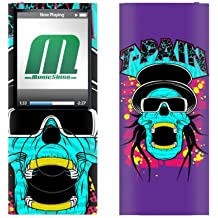 MusicSkins T-Pain Skully For Apple iPod nano 4G Funda Multicolor - Fundas para mp3/mp4