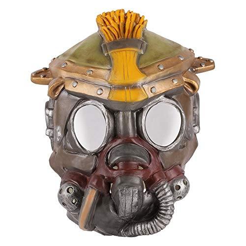 ex Legends Bloodhound Pfadfinder Cosplay Maske Latex Vollgesichts Kopf Helm Maske Halloween Maske Requisiten Erwachsene Frauen Männer ()