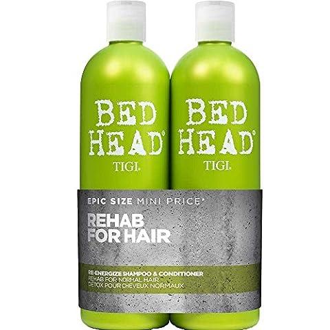 TIGI - BedHead Urban anti+dotes Level 1 - Re-Energize Shampoo & Conditioner Tween Duo 2x 750ml