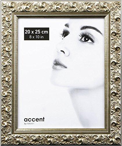Nielsen Design Arabesque 20 x 25 Holz Foto Silber 8525003