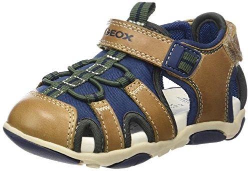 geox-b-sandal-agasim-boy-b-botines-de-senderismo-para-bebes-beige-caramel-navyc5gf4-26-eu