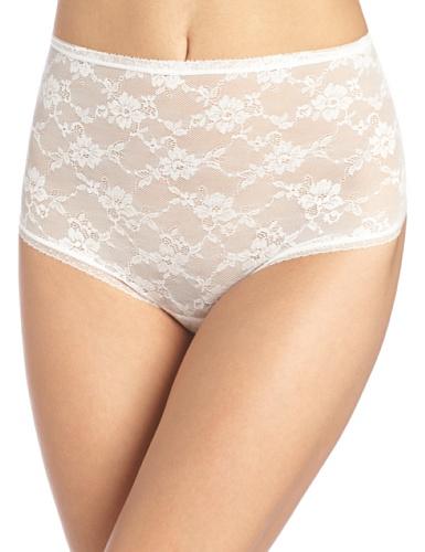 Cosabella Damen Strumpfhalter Glam Sexy Contour Shaper Thong, Weiß - Weiß, Petite (Contour Thong)
