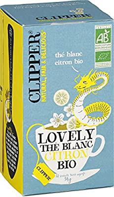 Clipper Thé Blanc Citron 30 g