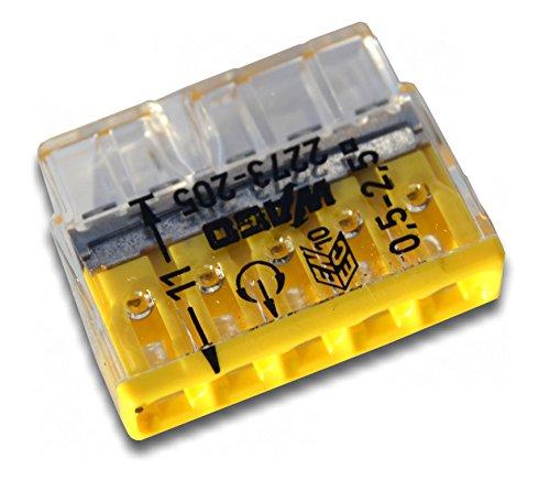 WAGO-2273-205-steckbar-Terminal-Block-5-Mglichkeiten-450-V-24-A