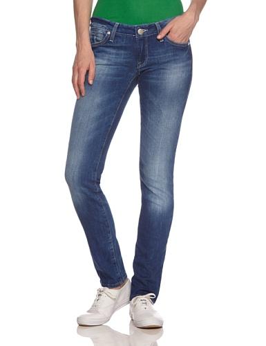 Mavi Damen Lindy; mid STR Jeans, Blau, W30/L30