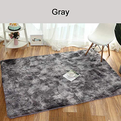 hige Teppiche Teppich Wohnzimmer Matte Dekoration Tie -Gefärbt Anti-Skid ()
