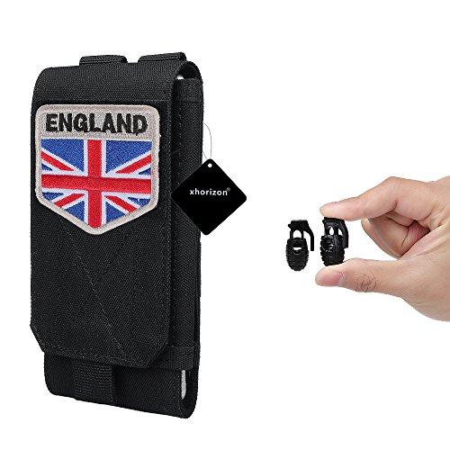 xhorizon Borsa Custodia per Accessorio Pochette Universale per Telefono Armata tactical pouch per iPhone 6/6s 6Plus 7 8 Samsung Galaxy S6 S5 S4 #6