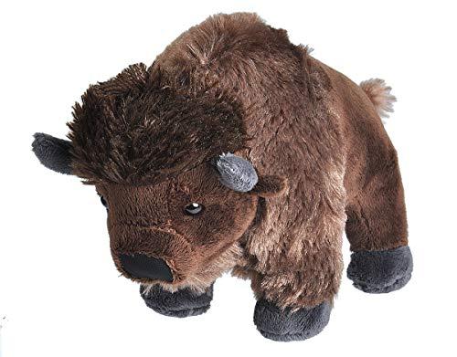 Wild Republic- CK Mini Bison de Peluche, 20 cm (10856)