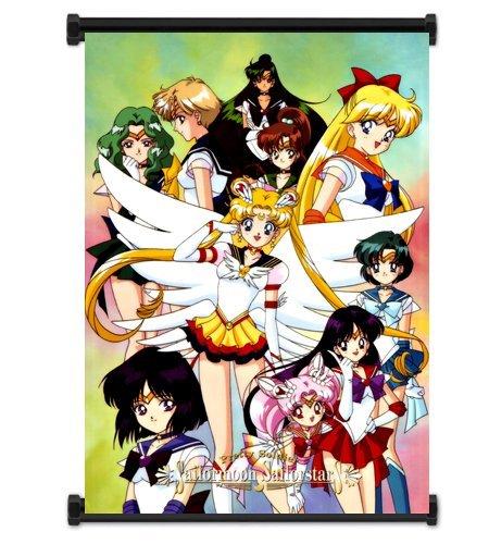 Sailor Moon Póster de personajes de manga japonés de tela de pared Scroll pulgada{0} (16 x 23). [WP] - Sailor Moon - 44