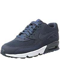 hot sale online a6b5e 7a62e Nike Jungen Air Max 90 Mesh (Gs) Gymnastikschuhe Schwarz
