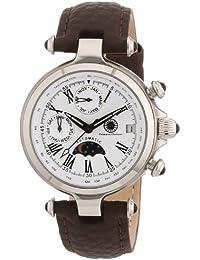 Constantin Durmont Damen-Armbanduhr XS Mirage Analog Automatik Leder CD-MIRL-AT-LT-STST-WH