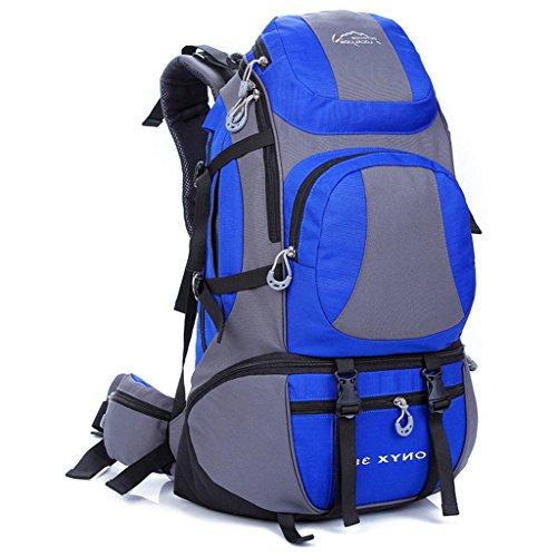 Die neuen Berg Taschen Outdoor-Reisen Sporttasche Rucksack Wanderrucksack Männer und Frauen Königsblau