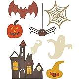 Ellison Europe Sizzix Spooky Halloween por mi vida hecha a mano Thinlits–Juego de troqueles (acero al carbono, multicolor, Pack de 7
