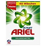Ariel Vollwaschmittel Pulver, 1er Pack (1 x 40 Waschladungen)